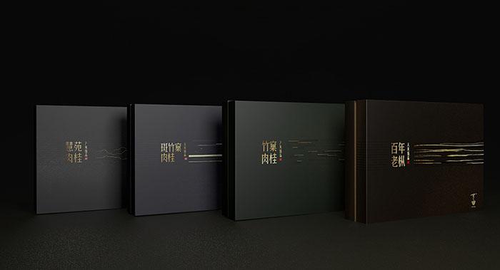 天英臻品礼盒包装-肉桂茶叶包装设计