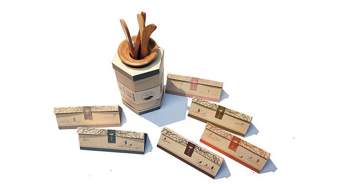 碧雾山茶叶包装设计-创意茶叶外包装设计