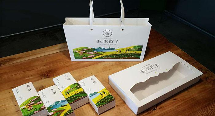 茶的故乡茶叶包装设计-绿茶包装设计