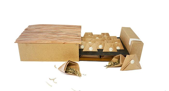 一味茶叶包装-特产风格茶叶包装设计