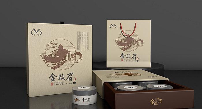箱盒汇主创茶叶包装设计-金骏眉茶叶包装设计