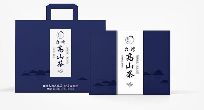 枫林茶叶包装设计-手提茶叶包装设计