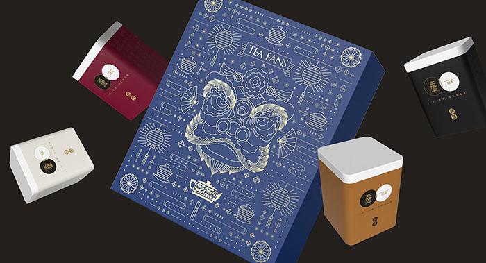 好茶客高阳扁茶叶包装设计-茶叶组合装包装设计
