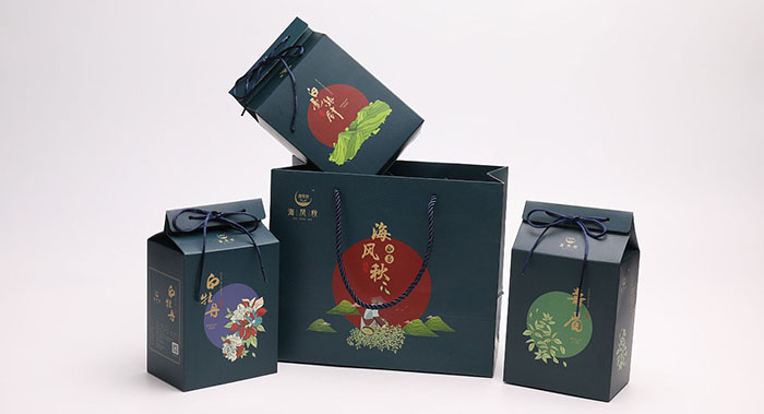 海风秋茶叶包装设计-红茶包装设计