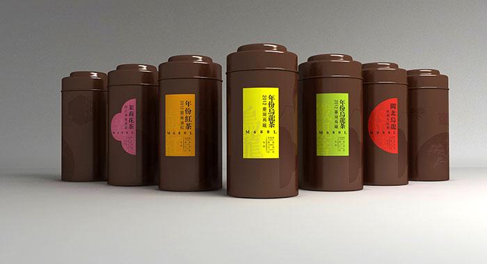 芬吉茶叶包装设计-乌龙茶包装设计