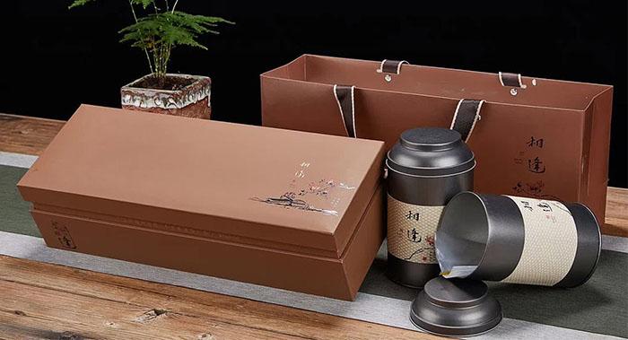 相逢高端茶叶包装设计,高端茶叶礼盒包装设计