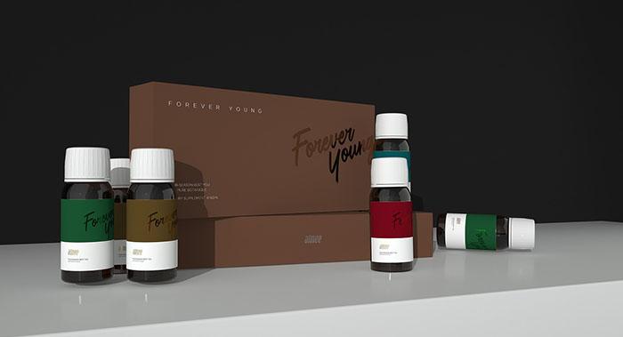 保健品系列包装设计-胶囊系列包装品包装设计公司