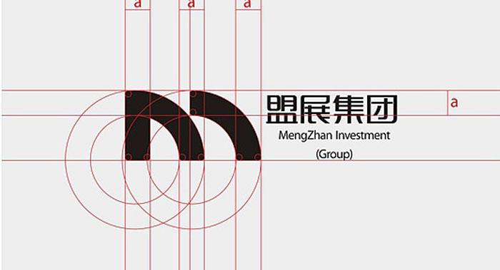 盟展集团VI设计-投资集团VI设计公司