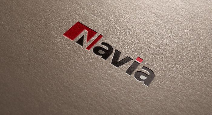 纳维亚VI设计-办公室隔断VI设计公司