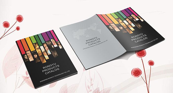 RONGYU电子产品画册设计-电子产品行业设计公司
