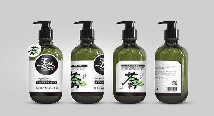 姜荟洗发水包装设计-洗发水包装设计公司