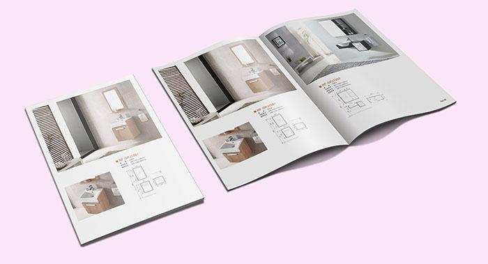 广州浴橱柜画册设计-浴室柜子画册设计-浴室家具画册设计公司