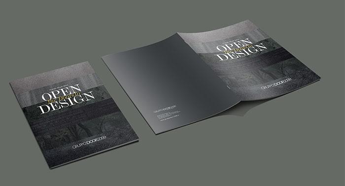 广州门业画册设计-门业产品画册设计-门业画册设计公司
