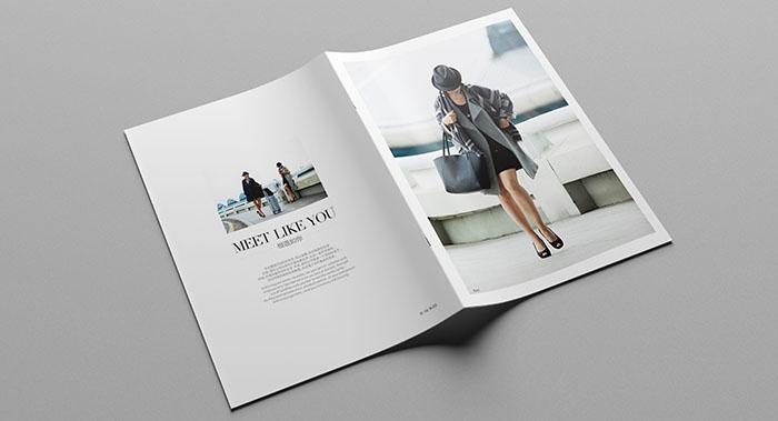 广州UA服装品牌画册设计-服装画册设计公司