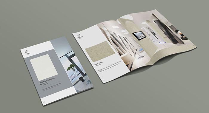 泰尔图斯大理石产品画册设计-大理石画册设计公司