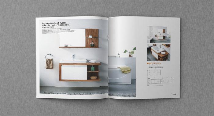 整体浴室柜画册设计-浴室柜宣传画册设计公司