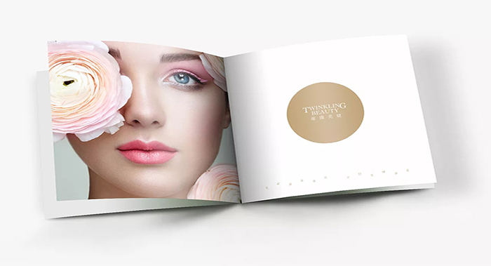 璀璨美睫画册设计-美容行业画册设计公司