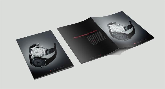 广州TUDOR手表画册设计-手表产品画册设计公司