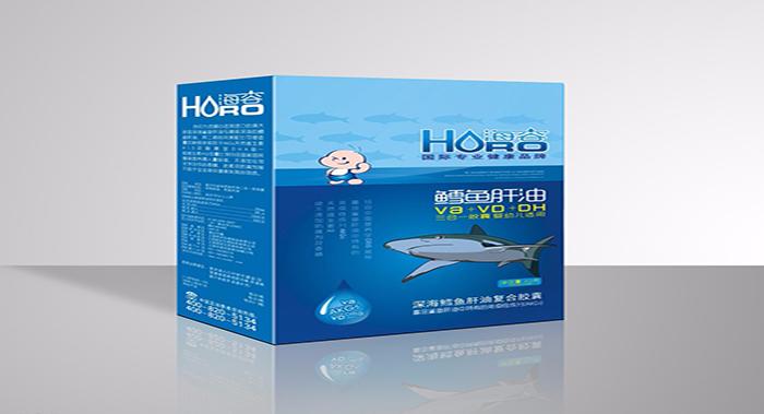 鳕鱼保健品包装设计-保健品包装设计公司