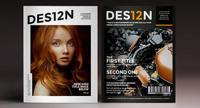 时尚流行类杂志期刊设计-时尚杂志期刊设计 公司