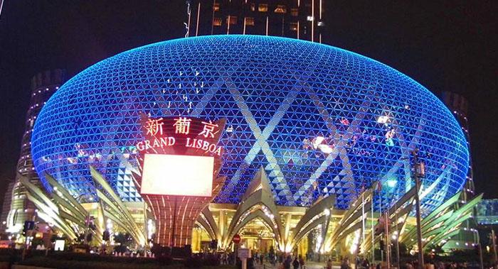 赌王澳门新葡京酒店logo设计有什么意义?为什么新葡京酒店logo要做金色主调?