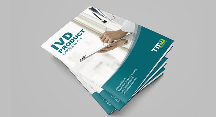 简约医疗器械画册设计案例-简约医疗器械画册设计公司