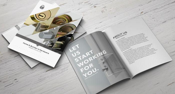五金产品英文画册设计-五金产品目录宣传设计案例欣赏-英文目录图册设计公司
