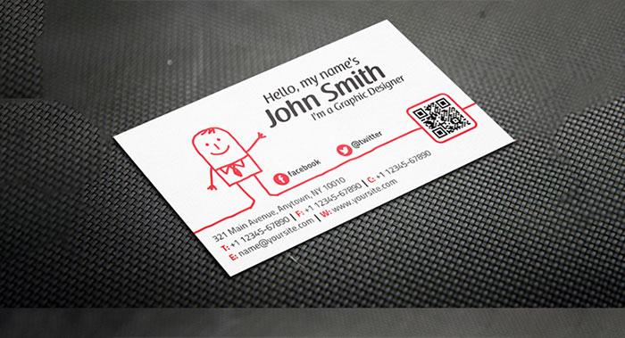 个性卡通名片设计-个性名片设计公司