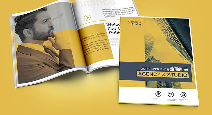 国际金融招商画册设计-海外欧美画册设计公司