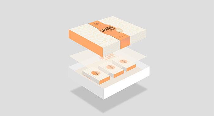 DHA藻油礼盒包装-土特产轻奢礼品盒包装设计-礼盒包装设计