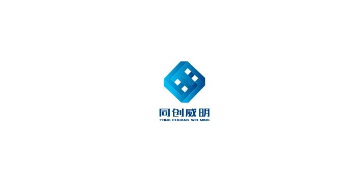 企业商标设计-立体感商标设计-多边形商标设计