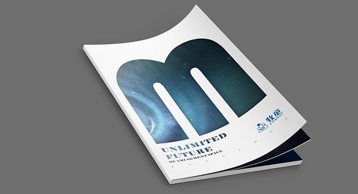 原创高端创意杂志风画册设计