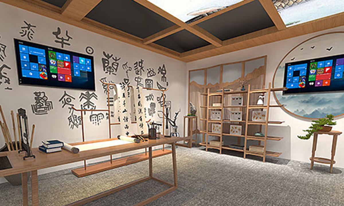 中式展厅设计-展厅设计公司