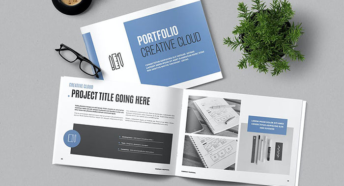 高端英文横版画册设计-高端英文横版画册设计案例欣赏
