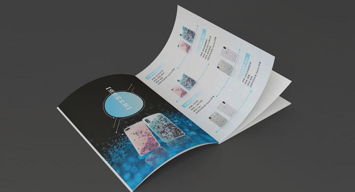 手机壳画册设计-手机壳产品内页宣传册设计
