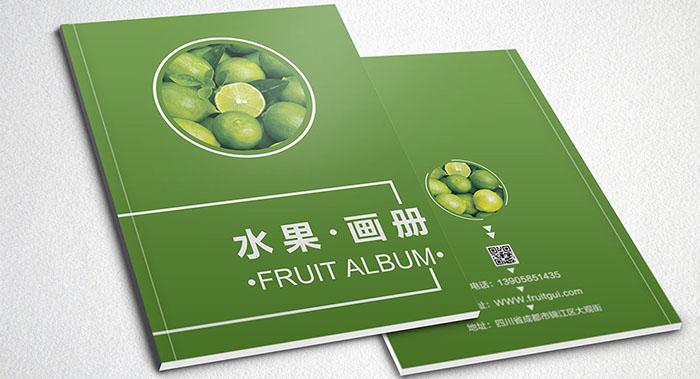 水果画册设计-水果户外设计公司