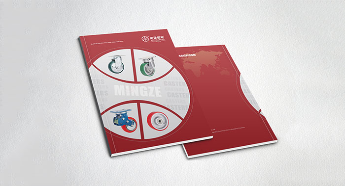 脚轮产品画册设计-轮子产品画册设计-配件产品画册设计公司